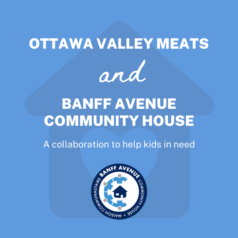 Ottawa Valley Meats and Banff Community House Operation Backpack