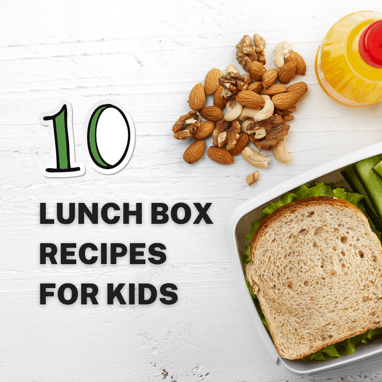 10 Lunch Box Recipes for Kids: Perfect School Lunches